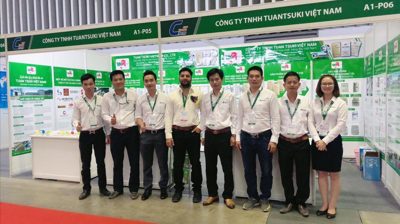 TUAN TSUKI tham dự triển lãm quốc tế VINACHEM EXPO 2019 tại TP.Hồ Chí Minh